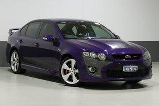 2009 Ford Falcon FG XR8 Purple 6 Speed Auto Seq Sportshift Sedan.