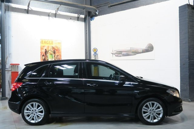 Used Mercedes-Benz B-Class W246 B200 BlueEFFICIENCY DCT, 2012 Mercedes-Benz B-Class W246 B200 BlueEFFICIENCY DCT Black 7 Speed Sports Automatic Dual Clutch