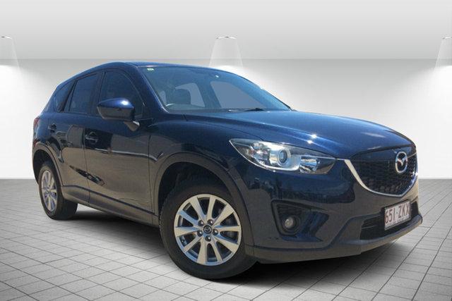 Used Mazda CX-5 KE1021 MY14 Maxx SKYACTIV-Drive AWD Sport, 2013 Mazda CX-5 KE1021 MY14 Maxx SKYACTIV-Drive AWD Sport Blue 6 Speed Sports Automatic Wagon