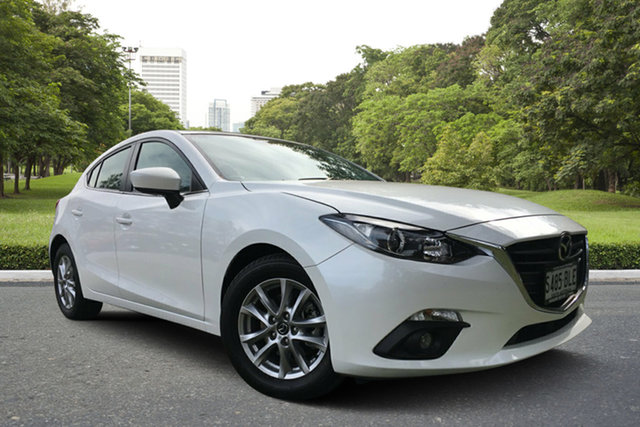Used Mazda 3 BM5476 Maxx SKYACTIV-MT, 2014 Mazda 3 BM5476 Maxx SKYACTIV-MT White 6 Speed Manual Hatchback