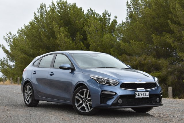 Demo Kia Cerato BD MY19 Sport, 2019 Kia Cerato BD MY19 Sport Horizon Blue 6 Speed Sports Automatic Hatchback