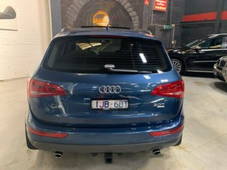 2010 Audi Q5 8R MY11 TFSI S Tronic Quattro Blue 7 Speed Sports Automatic Dual Clutch Wagon