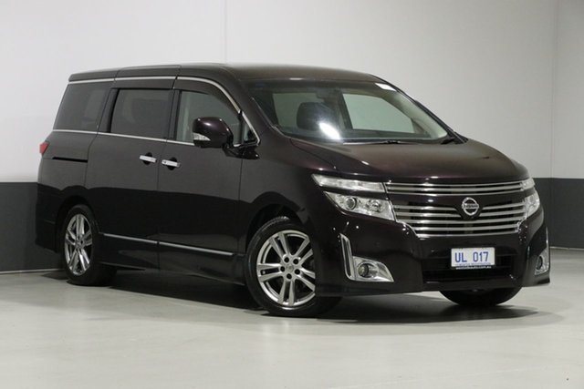Used Nissan Elgrand E52 Highway Star Premium, 2010 Nissan Elgrand E52 Highway Star Premium Midnight Purple 6 Speed Constant Variable Wagon