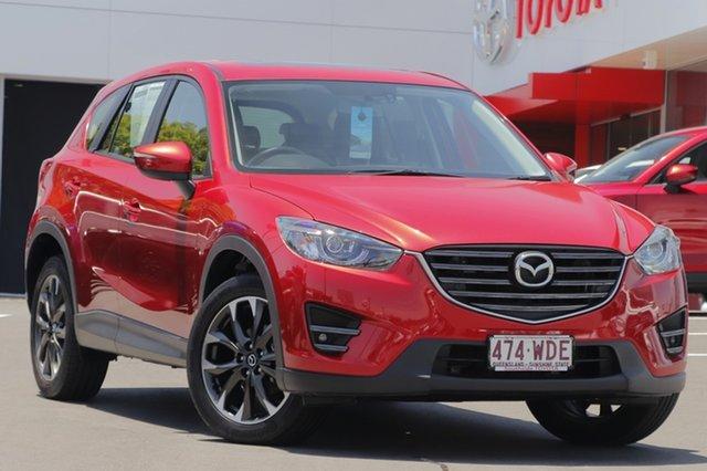 Used Mazda CX-5 KE1032 Grand Touring SKYACTIV-Drive AWD, 2015 Mazda CX-5 KE1032 Grand Touring SKYACTIV-Drive AWD Soul Red/blac Leathe 6 Speed