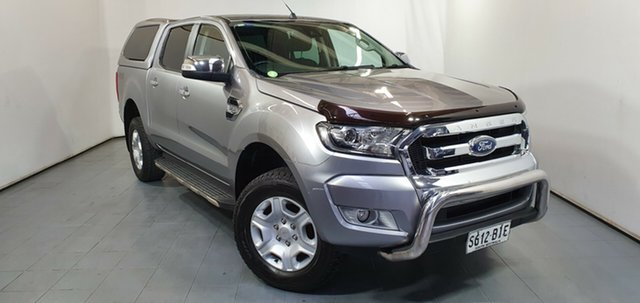 Used Ford Ranger PX MkII XLT Double Cab, 2015 Ford Ranger PX MkII XLT Double Cab Silver 6 Speed Sports Automatic Utility