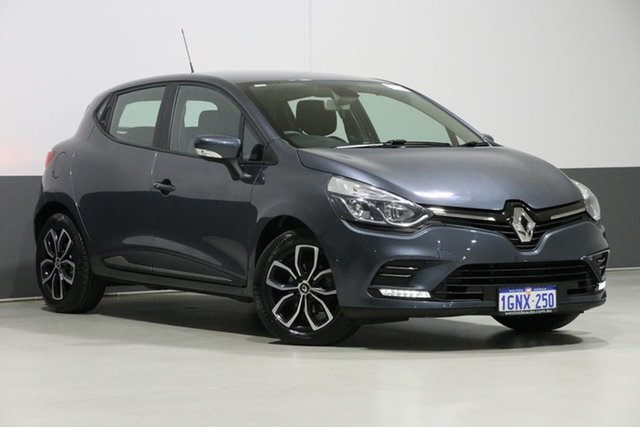 Used Renault Clio B98 MY17 Update (phase Life, 2018 Renault Clio B98 MY17 Update (phase Life Grey 6 Speed Auto Dual Clutch Hatchback