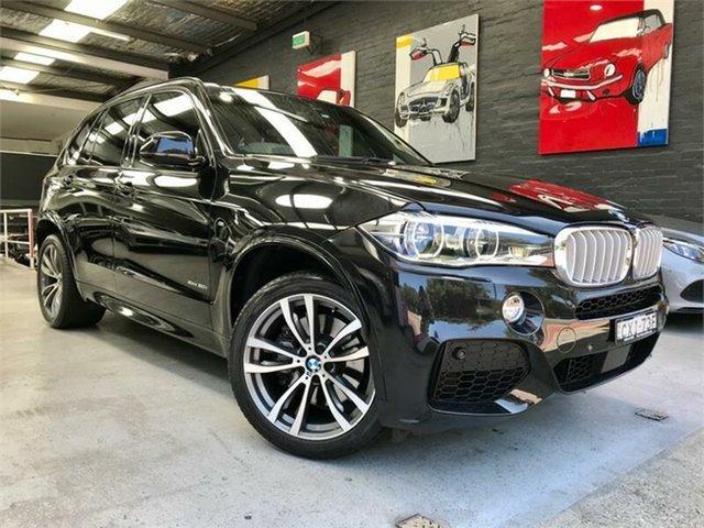 Used BMW X5 F15 xDrive50i, 2014 BMW X5 F15 xDrive50i Black Sports Automatic Wagon