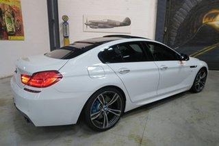 2014 BMW 6 Series F06 MY0314 640d Gran Coupe Steptronic White 8 Speed Sports Automatic Sedan