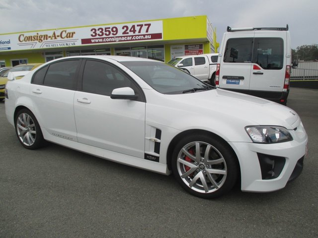 Used Holden Special Vehicles ClubSport E Series R8, 2007 Holden Special Vehicles ClubSport E Series R8 White 6 Speed Manual Sedan