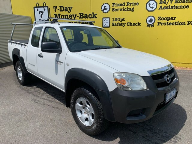 Used Mazda BT-50 UNY0E4 DX+ Freestyle 4x2, 2010 Mazda BT-50 UNY0E4 DX+ Freestyle 4x2 White 5 Speed Manual Utility