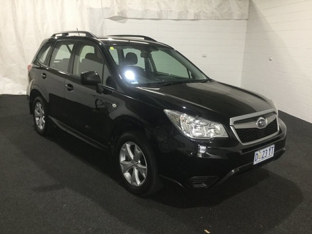 Used Subaru Forester S4 MY13 2.0D AWD, 2013 Subaru Forester S4 MY13 2.0D AWD Black 6 Speed Manual Wagon