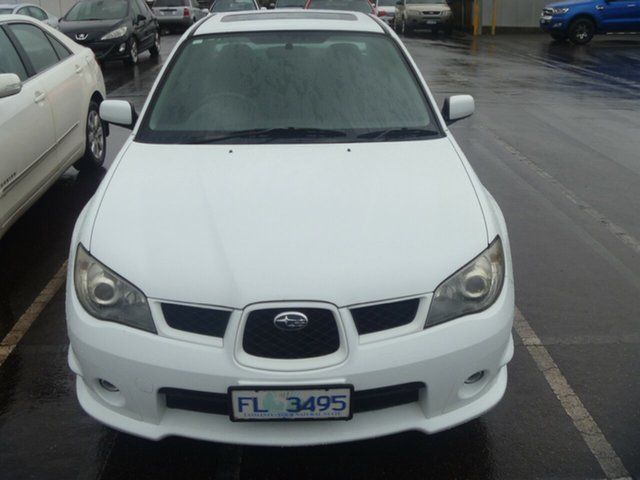 Used Subaru Impreza S MY06 AWD, 2006 Subaru Impreza S MY06 AWD White 4 Speed Automatic Sedan