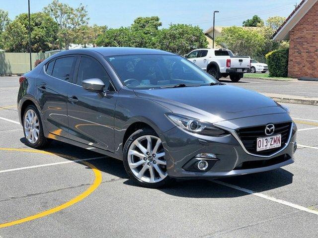 Used Mazda 3 BM5238 SP25 SKYACTIV-Drive GT, 2015 Mazda 3 BM5238 SP25 SKYACTIV-Drive GT Grey 6 Speed Sports Automatic Sedan