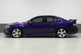 2009 Ford Falcon FG XR8 Purple 6 Speed Auto Seq Sportshift Sedan