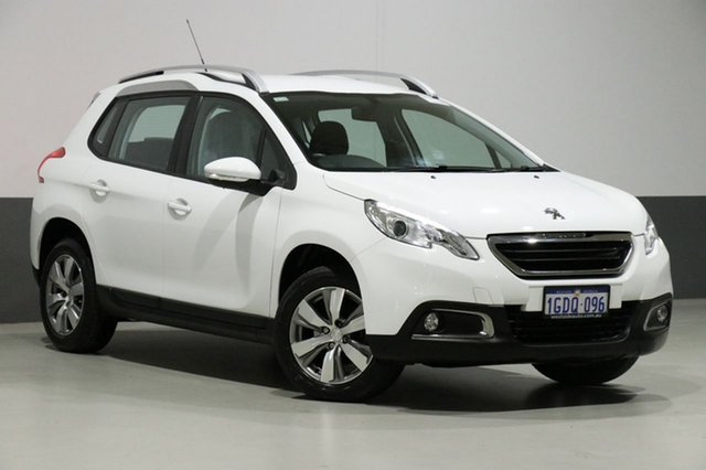Used Peugeot 2008  Active, 2016 Peugeot 2008 Active White 4 Speed Automatic Wagon