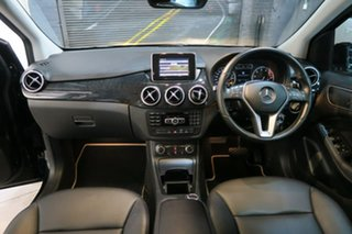 2012 Mercedes-Benz B-Class W246 B200 BlueEFFICIENCY DCT Black 7 Speed Sports Automatic Dual Clutch.