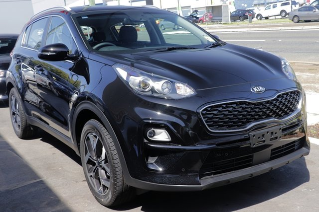 New Kia Sportage QL MY20 SX 2WD, 2019 Kia Sportage QL MY20 SX 2WD Cherry Black 6 Speed Sports Automatic Wagon