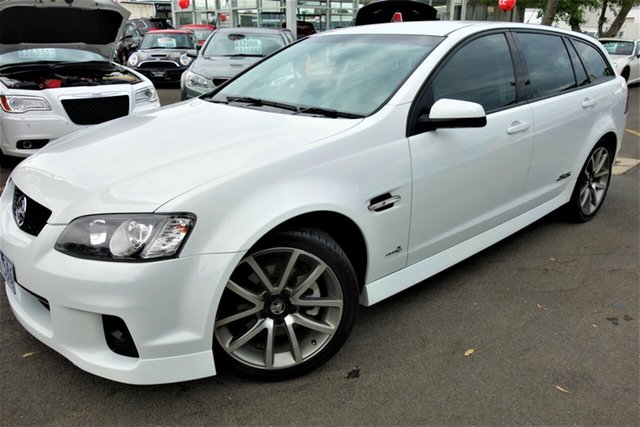 Used Holden Commodore VE II MY12 SS V Sportwagon, 2011 Holden Commodore VE II MY12 SS V Sportwagon White 6 Speed Sports Automatic Wagon