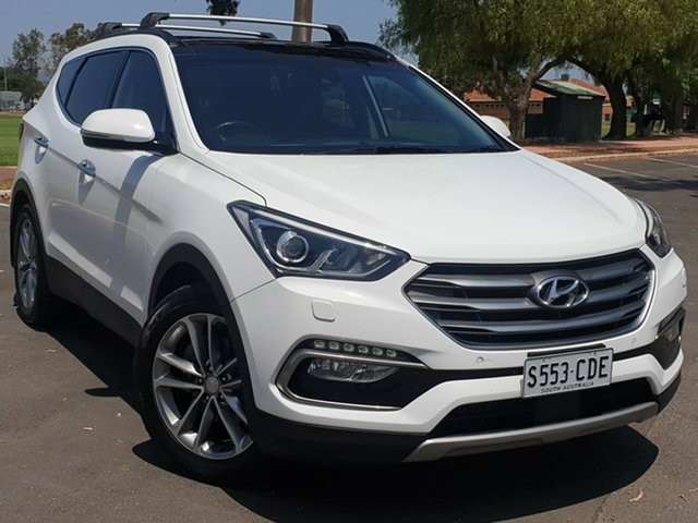 Used Hyundai Santa Fe DM3 MY16 Highlander, 2015 Hyundai Santa Fe DM3 MY16 Highlander White 6 Speed Sports Automatic Wagon