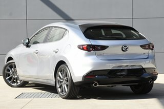 2019 Mazda 3 BP2H76 G20 SKYACTIV-MT Evolve Sonic Silver 6 Speed Manual Hatchback.