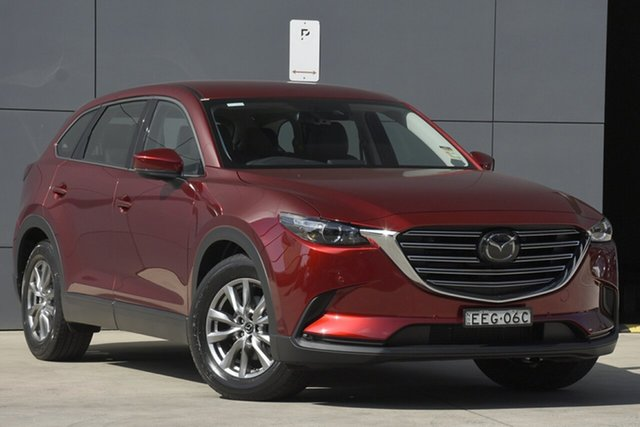 Demo Mazda CX-9 TC Touring SKYACTIV-Drive i-ACTIV AWD, 2019 Mazda CX-9 TC Touring SKYACTIV-Drive i-ACTIV AWD Soul Red Crystal 6 Speed Sports Automatic