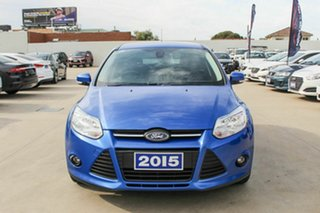 2015 Ford Focus LW MkII MY14 Trend PwrShift Blue 6 Speed Automatic Hatchback