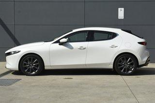 2019 Mazda 3 BN5436 SP25 SKYACTIV-MT GT Snowflake White 6 Speed Manual Hatchback