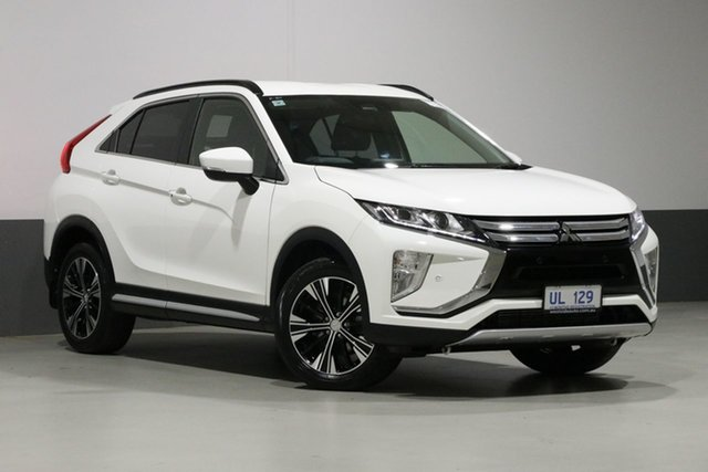Used Mitsubishi Eclipse Cross YA MY18 LS (2WD), 2018 Mitsubishi Eclipse Cross YA MY18 LS (2WD) White Continuous Variable Wagon