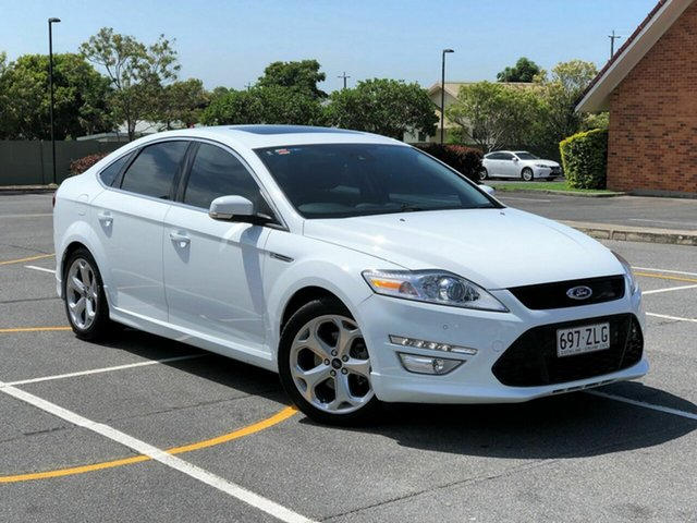 Used Ford Mondeo MC Titanium PwrShift TDCi, 2011 Ford Mondeo MC Titanium PwrShift TDCi White 6 Speed Sports Automatic Dual Clutch Hatchback