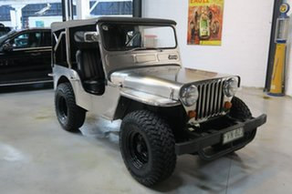 1953 Willys Jeep CJ-3A Silver Manual Utility