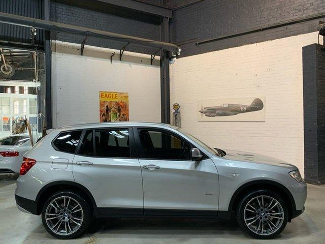 Used BMW X3 F25 MY0412 xDrive20i Steptronic, 2012 BMW X3 F25 MY0412 xDrive20i Steptronic Silver 8 Speed Automatic Wagon