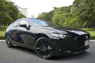 2019 Mazda 3 BP2HLA G25 SKYACTIV-Drive Astina Black 6 Speed Sports Automatic Hatchback.