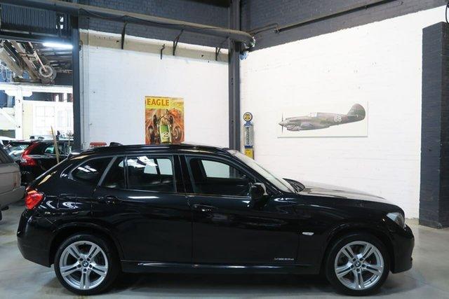 Used BMW X1 E84 MY0911 xDrive23d Steptronic AWD, 2011 BMW X1 E84 MY0911 xDrive23d Steptronic AWD Black 6 Speed Sports Automatic Wagon