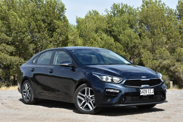 Demo Kia Cerato BD MY19 Sport+, 2018 Kia Cerato BD MY19 Sport+ Gravity Blue 6 Speed Sports Automatic Sedan