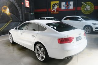 2014 Audi A5 8T MY15 (N5) Sportback S Tronic Quattro White 7 Speed Sports Automatic Dual Clutch