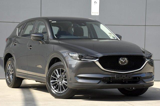 New Mazda CX-5 KF2W7A Maxx SKYACTIV-Drive FWD Sport, 2019 Mazda CX-5 KF2W7A Maxx SKYACTIV-Drive FWD Sport Machine Grey 6 Speed Sports Automatic Wagon