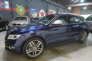 2014 Audi SQ5 8R MY15 TDI Tiptronic Quattro Blue 8 Speed Sports Automatic Wagon