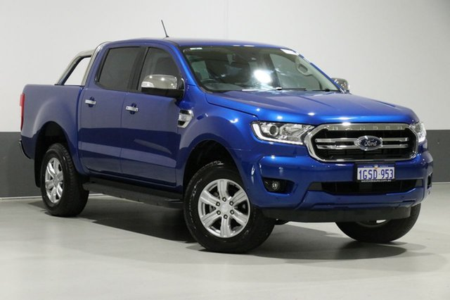 Used Ford Ranger PX MkIII MY19 XLT 3.2 (4x4), 2019 Ford Ranger PX MkIII MY19 XLT 3.2 (4x4) Blue 6 Speed Automatic Double Cab Pickup