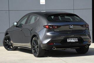 2019 Mazda 3 BP2HL6 G25 SKYACTIV-MT Astina Machine Grey 6 Speed Manual Hatchback.