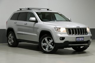 2012 Jeep Grand Cherokee WK MY12 Limited (4x4) Silver 5 Speed Automatic Wagon.