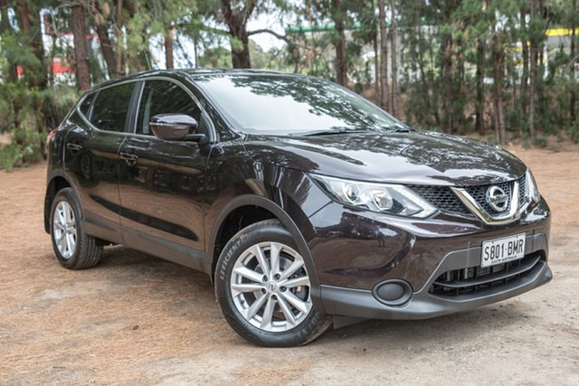 Used Nissan Qashqai J11 ST, 2016 Nissan Qashqai J11 ST Nightshade 1 Speed Constant Variable Wagon