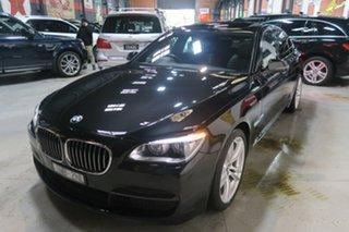2014 BMW 7 Series F01 LCI 740i Steptronic Black 8 Speed Sports Automatic Sedan