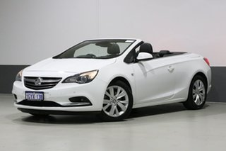 2015 Holden Cascada CJ White 6 Speed Automatic Convertible.