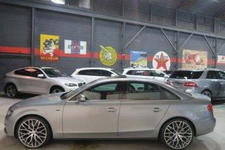 2010 Audi A4 B8 8K MY11 S Tronic Quattro Grey 7 Speed Sports Automatic Dual Clutch Sedan