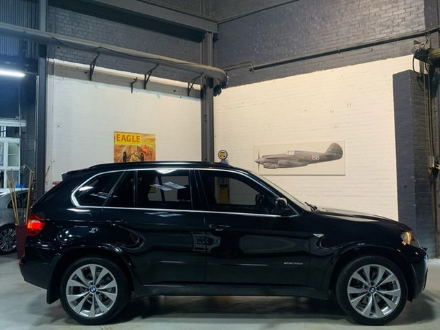 Used BMW X5 E70 MY11 xDrive30d Steptronic, 2010 BMW X5 E70 MY11 xDrive30d Steptronic Black 8 Speed Sports Automatic Wagon