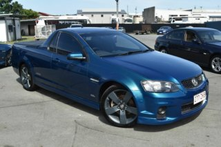 2012 Holden Commodore VE II MY12.5 SS Z-Series Green 6 Speed Manual Utility.