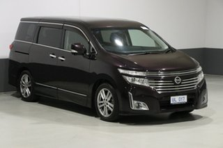 2010 Nissan Elgrand E52 Highway Star Premium Midnight Purple 6 Speed Constant Variable Wagon