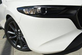 2019 Mazda 3 BN5436 SP25 SKYACTIV-MT GT Snowflake White 6 Speed Manual Hatchback.