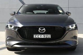 2019 Mazda 3 BP2HL6 G25 SKYACTIV-MT Astina Machine Grey 6 Speed Manual Hatchback