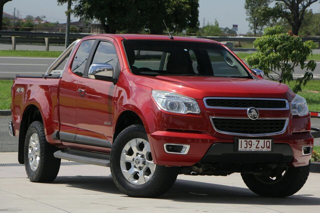 Used Holden Colorado RG MY14 LTZ Space Cab, 2014 Holden Colorado RG MY14 LTZ Space Cab Red 6 Speed Sports Automatic Utility